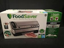 NIB Foodsaver V4880 Fully Automatic Vacuum Sealer Packer Starter Kit Bags Rolls