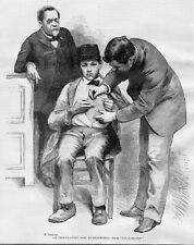 INOCULATION HYDROPHOBIA LOUIS PASTEUR PRAVAZ SYRINGE MEDICAL 1888 HISTORY