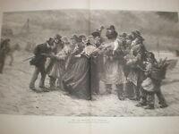 The Sole Survivors C J Staniland storm shipwreck large print 1876