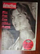 Détective 1959 REIMS MONTCOURT VILLENEUVE YONNE BULLY