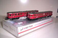 HOBBYTRAIN H2681 Dieseltriebwagen 2 teilig VT 36,5 + VS145 DB III ROT