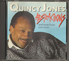 QUINCY JONES ABSTRACTIONS 14 track CD Take Five Exodus Bossa Nova  Gravy Waltz