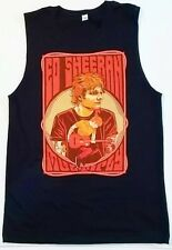 Ed Sheeran Multiply Concert Tour Sleeveless Shirt NEW Authentic Adult Size Small