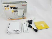Sitecom WLR-3100 - 4-Ports  Wireless N300 Router X3 - 300 Mbps with box