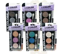 L.A. Colors 3 Color Eyeshadow, Multidimensional, 5.5g, CHOOSE YOUR SHADE