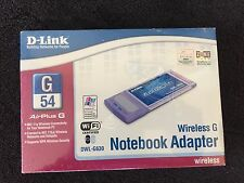 D-Link Wireless G  DWL-G630 54 Mbps PCMCIA Wireless Notebook Adapter