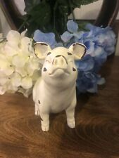 Dollar General Pig Country Farmhouse Decor Resin Statue Figurine Wilbur Shabby