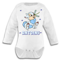 Personnalisé Bébé Mon 1st Pâques bleu Baby Grow Body BABYGROW VEST