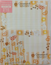 Letter Set Cinnamoroll Sweets Brown with Sticker Sanrio Paper Stationery