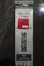 Shimano CN-7701 XTR Dura Ace Kette 9-speed Chain 116 NOS NEU NIB OVP