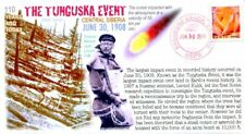 """COVERSCAPE computer generated 110th anniversary of the """"Tunguska Event"""" cover"""