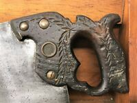 Disston No. 12 Saw - 5 TPI Rip Cut Handsaw