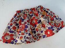 BJB Vintage Sasha dolls clothes, Pretty beige rustic floral Liberty print skirt