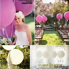 White Balloon Big Large Giant Wedding Decoration Helium Latex Party Supply 2x18'