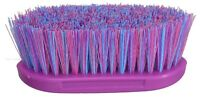 Horse Pony Grooming Dandy Brush For Stable ~ Set Of 3 Purple