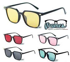 Occhiali da Sole iFrames Quadrati Gradient Square Vintage Uomo Donna 2018