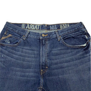 Hommes 36 x 32 Ariat Taille Basse M4 Coffre Duralite Ripstop Jean