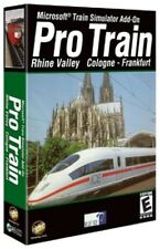 Microsoft Train Simulator Pro Train:Rhine Valley Cologne-Frankfurt (Jewel case)
