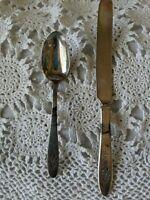 Community Plate Silver Plate Silverware Knife Spoon