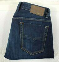 Diesel Viker Men's Indigo Denim Jeans Size W30 L32 Wash 008RM Made in Italy