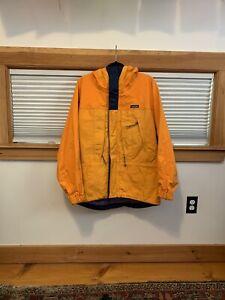 Vintage Patagonia Powder Bowl  Gore-Tex Jacket Orange size Medium