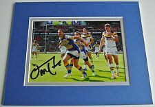Danny McGuire Signed Autograph 10x8 photo display Leeds Rhinos Rugby AFTAL & COA