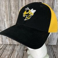Georgia Tech Yellow Jackets New Era 39Thirty Hat M L FlexFit Gold Black Cap