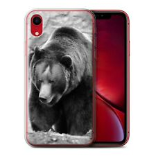 Animaux de zoo Coque Gel pour iPhone XR/Ours