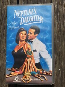 Neptune's Daughter Starring Esther Williams Vintage VHS (2001) VGC