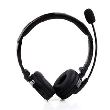 Bluetooth Headset Wireless with Mic Over the Head Stereo for iPhone Android PS3