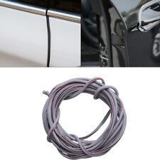 16FT / 5M Grey Car Door Edge Protector Rubber Strip Moulding Guard Cover Trim