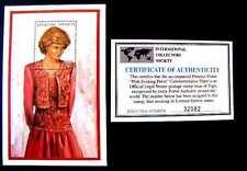 """PRINCESS DIANA """"PINK EVENING  DRESS"""" 1997 MNH OG 1974 OG (SEE NOTE)"""