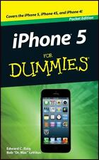 iPHONE 5 FOR DUMMIES (Pocket Edition) : WH1/2 : iPHONE 5/4S/4 : NEW BOOK