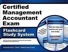Certified Management Accountant Exam Flashcard Study System Mometrix