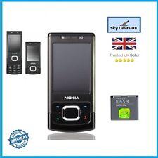 Neuf Nokia 6500 Slide noir 3G sans sim débloqué marque téléphone mobile gsm