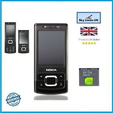 New condition Nokia 6500 Slide Black 3G Sim Free Unlocked Brand Mobile Phone GSM