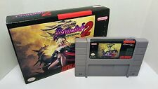 Brandish 2: the Planet Buster - English SNES Translation NTSC Sealed in Box