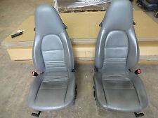 PORSCHE BOXSTER SEATS  PORSCHE BOXSTER ELECTRIC LEATHER FRONT SEATS   W1PCW