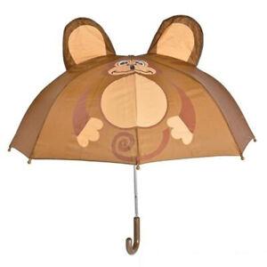 Monkey Umbrella Raining Dry Head Cover Rain Wet Protect Water Aniaml Jungle