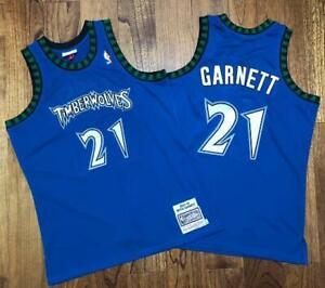 Timberwolves Kevin Garnett #21 Jersey
