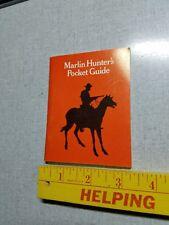 Vintage Marlin Hunters Pocket Guide