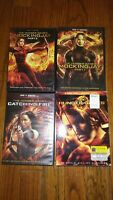 The Hunger Games: The Complete 4-Film Collection (ALL DVD)