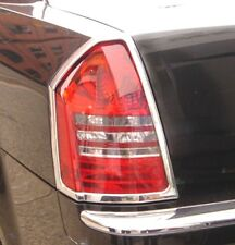 Chrysler 300 Chrome Taillight Trim Outline Bezels by Luxury Trims 2008-2010 Pair