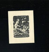 EXLIBRIS, 568a, Hugo Silbersky - Akt und Satyr