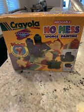 Crayola No Mess Sponge Painting Set ~ Brand New ~