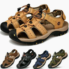Mens Sports Sandals Outdoor Fisherman Walking Hiking Shoes Beach Water Shoes New