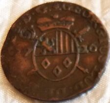 Liard - Georges-Louis de Berghes 1726 armes ovales famille de Berghes Liège
