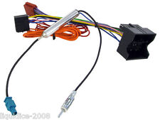 CD30 CD70 VAUXHALL ASTRA H 2009 ONWARDS RADIO ISO WIRING HARNESS AERIAL ADAPTOR