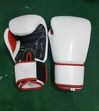 New Hook & Loop Leather Boxing Gloves any logo R Name, inspired by Twins fairtex