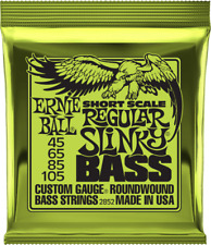 Ceb2852 - Jeu cordes basse Regular Slinky Short Scale Ernie Ball